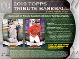 2019 Topps Tribute Baseball Half Case, 3 Hobby Box Break PYT #9 - Major League Cardz