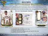 2019 Topps Triple Threads Baseball 3 Box 1/3 Case Break PYT #5 - Major League Cardz