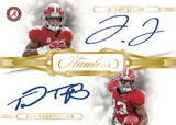 2020 Panini Flawless Collegiate FB 1 Box Half Case - Left Side Serial No. #1 - Major League Cardz