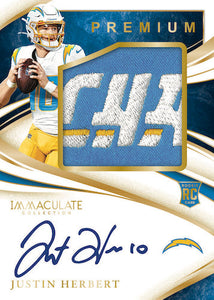 2020 Panini Immaculate Football 3 Box Half Case - PYT #1 - Major League Cardz