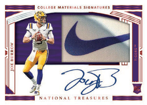 2020 Panini National Treasures Collegiate FB 4 Box Case - PYT #1 - Major League Cardz