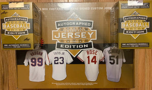 2020 Leaf Autographed Baseball Mixer 1 Jersey & 2 Baseballs - RT #1 - Major League Cardz