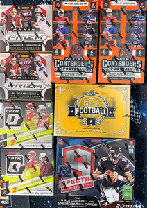 Matty's 2019 Best of FOTL Football 8-Box Mixer Break - PYT #1 - Major League Cardz