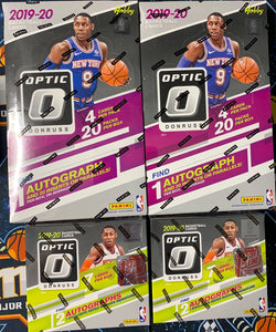 *PROMO* 2019-20 Panini Donruss Optic Basketball 4-Box Hobby/FOTL Mixer - PYT #2 - Major League Cardz