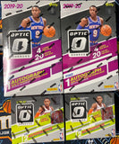 *PROMO* 2019-20 Panini Donruss Optic Basketball 4-Box Hobby/FOTL Mixer - PYT #1