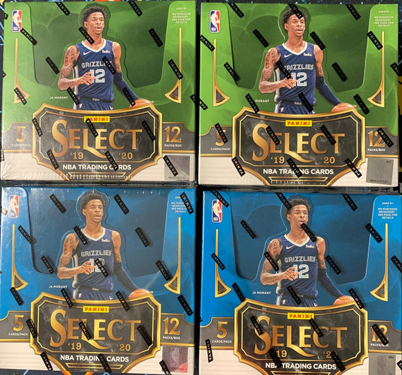 2019-20 Panini SELECT Basketball 2 FOTL & 2 HOBBY Mixer - PYT #2 - Major League Cardz