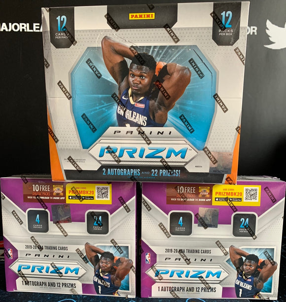 2019-20 Prizm BK Hobby/Retail x2 - PYT #1 *PELS & GRIZZ RANDOM TO ALL TEAMS!!* - Major League Cardz