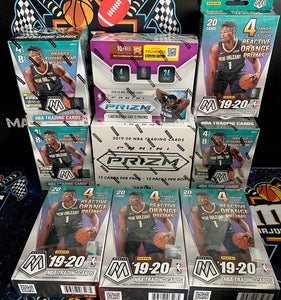 2019-20 Prizm & Mosaic 9 Box Mixer - PYT #1 w/ Pels & Grizz random to all! - Major League Cardz