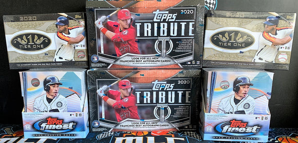 2020 Topps 6 Box Mixer (Finest,Tier 1,Tribute) - PYT #1 - Major League Cardz