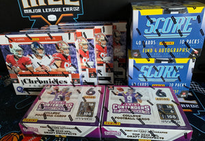 2019/2020 Panini FB 8 Box Mix (Chron/Tenders/SCORE) - PYT #1 - Major League Cardz