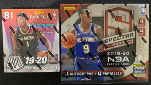 FILLER W/ PELICANS FOR: 19-20 Spectra & Mosaic Choice 2 Box Mix - PYT #1 - Major League Cardz
