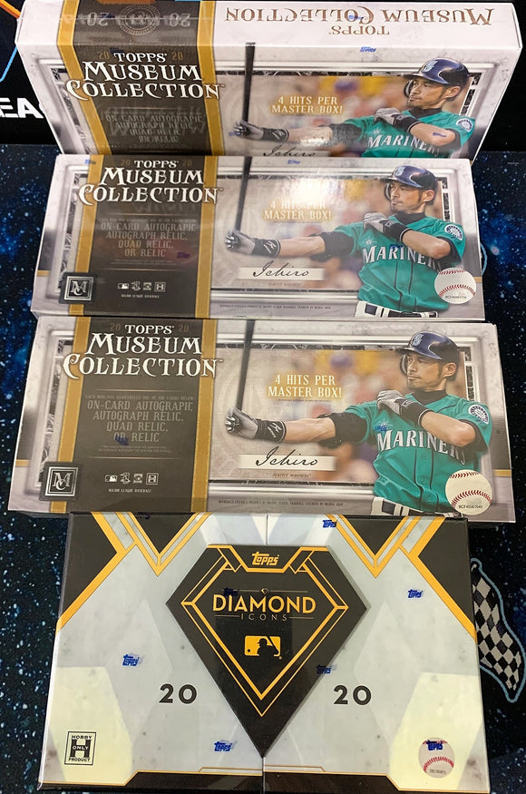 2020 Topps Diamond Icons x1 & Museum Collection x3 Mixer - PYT #1