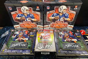 2020 Panini Honors/Playbook/Mosaic FB 5 Box Mixer - PYT #2 - Major League Cardz