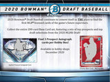 2020 Bowman Draft Baseball Jumbo 8 Box Case - PYT #1 - Major League Cardz