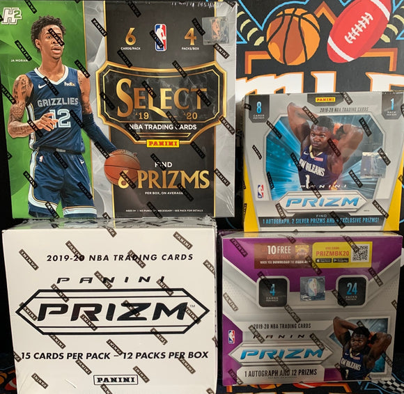 SELECTIZM! 2019-20 BK 4 Box Mixer of SELECT Hybrid & PRIZM - RT #1 - Major League Cardz