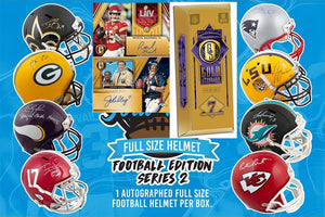 2020 Gold Standard FB 4 Box & 1 Gold Rush FS Specialty Helmet - PYT #2 - Major League Cardz