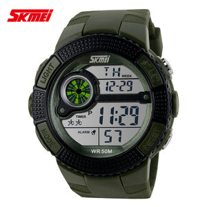 2016 Skmei Brand Men's LED Digital Watch Military Watch Running Dress Sports Watches Fashion Outdoor Wristwatches Reloj Hombre