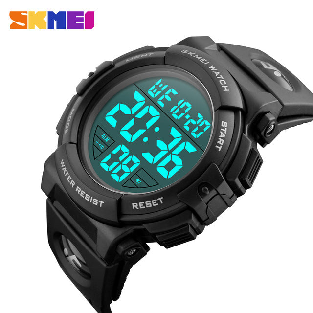 Mens Sports Watches Famous Brand Luxury Men's Military Army Watch Digital LED Electronic Waterproof Men Wristwatches Male Skmei