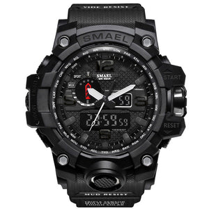 Luxury Brand G Style Shock Watch Military Men Sport Watch Digital 50M Waterproof Wristwatch Electronic Rubber Band Clock Male