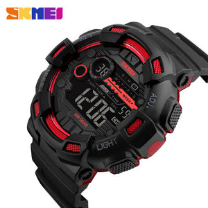 SKMEI Brand Men's Fashion Sport Watches Chrono Countdown Men Waterproof Digital Watch Man Military Clock Relogio Masculino New