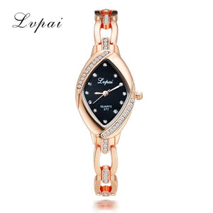 Woman Watches 2017 Brand Luxury Quartz-Watch Ladies Watch Women Gold Dropshiping Bracelet Casual Oval Crystal Dress Wristwatch