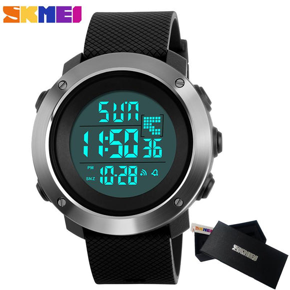 2018 Skmei Fashion Women Sports Watches Men's Digital LED Electronic Clock Man Military Waterproof Watch Men Relogio Masculino
