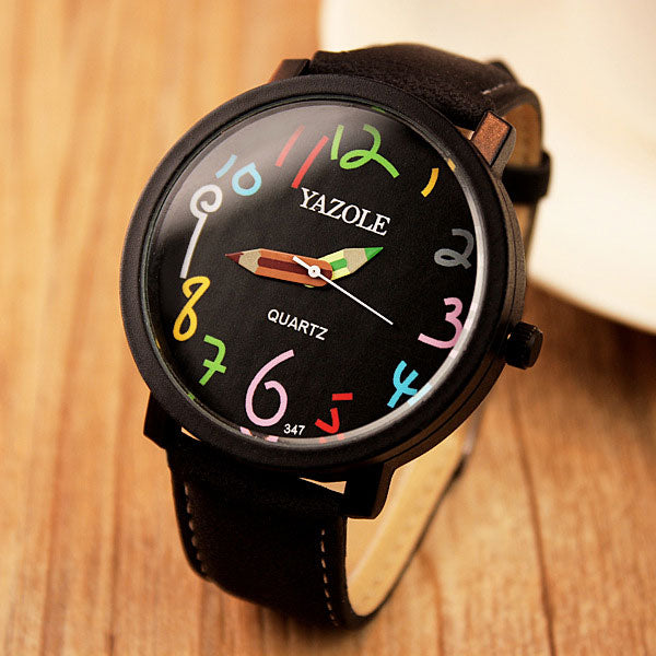YAZOLE Fashion Quartz Watch Women Watches Ladies Brand Famous Wristwatches For Female Wrist Clock Montre Femme Relogio Feminino