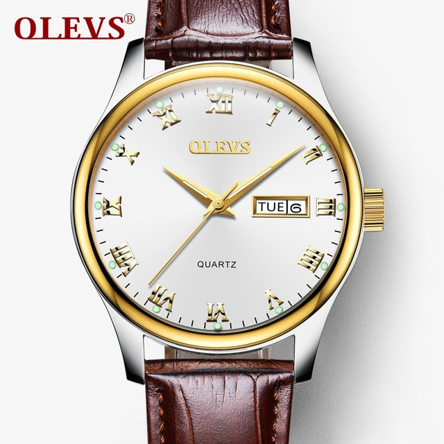 OLEVS Casual Watch Ladies Luxury women watches Brand Quartz Sport Stainless Steel Rold Gold Wristwatch reloj mujer New kol saati