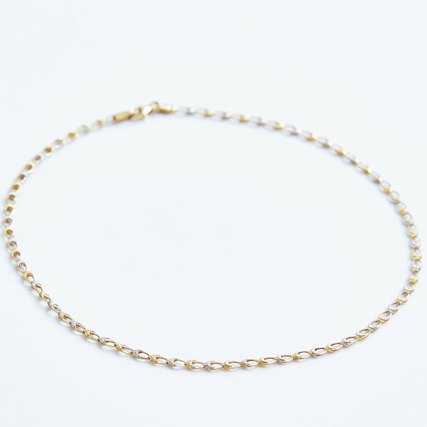Chain choker in Solid 14k Gold | Stephanie Grace Jewellery