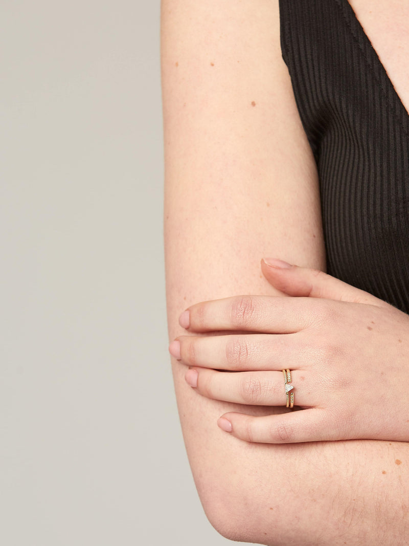 Open Ring - Solid 14k Gold - Stephanie Grace Jewellery