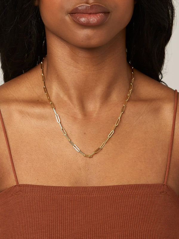 Bold Chain - Solid 14k Gold - Stephanie Grace Jewellery