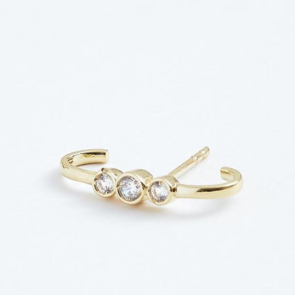 Bright Bar - Solid 14k Gold - Stephanie Grace Jewellery