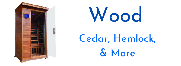 Search Saunas by Wood Types