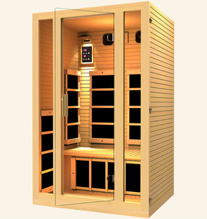 JNH Lifestyles Joyous 2 Person Far Infrared Sauna