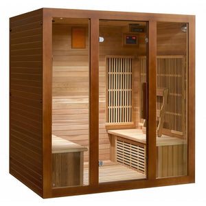 SunRay HL400KS 4 Person Roslyn Sauna