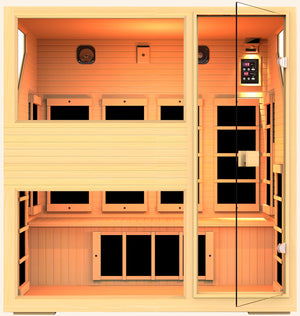 Ensi™ 4 Person Zero-EMF Far Infrared Sauna