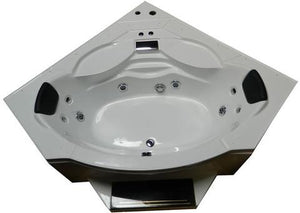 "Mesa WS-608A Steam Shower Jetted Tub Combination 63"" x 63"" x 85"""