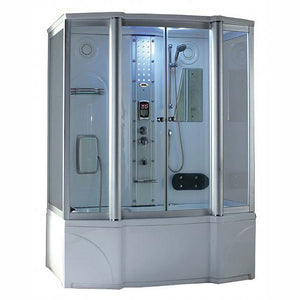 "Mesa 807A Steam Shower Tub Combo 67""L x 35""W x 86""H"