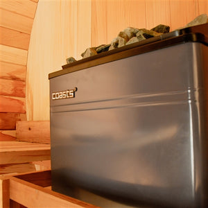 COASTS Sauna Heater for Spa Sauna Room - 9KW - 240V - CON 3 Outer Digital Controller