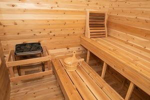 Dundalk Outdoor Sauna Canadian Timber Luna CTC22LU