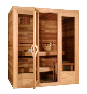 "SaunaCore Sauna Traditional ""Classic"" Holds 2-10 People"