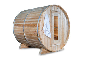 Dundalk Barrel Sauna Canadian Timber Harmony CTC22W