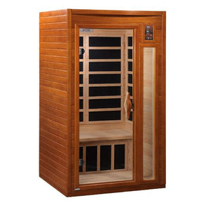 Golden Designs Sauna Barcelona 2-person Dynamic Low EMF Far Infrared Sauna DYN-6106-01