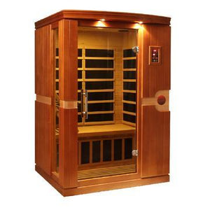 Golden Designs Dynamic Venice 2 Person Low EMF Far Infrared Sauna DYN-6210-01