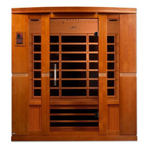 Golden Design Sauna Dynamic Bergamo 4-person Far Infrared Sauna Low EMF DYN-6440-01