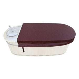 Insulator Top Cover for Hot Tub - Burgundy