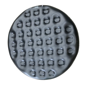 Inflatable Round Insulator Top for 6-Person Inflatable Hot Tub - Black