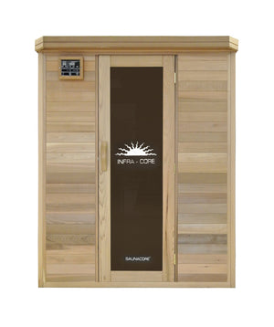"SaunaCore Sauna ""Horizon Purity"" 2- Person Far Infrared Sauna"