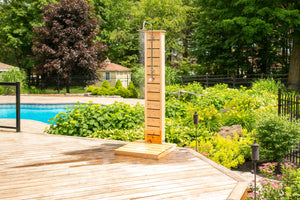 Dundalk Sierra Outdoor Shower with Canadian Timber CTC105