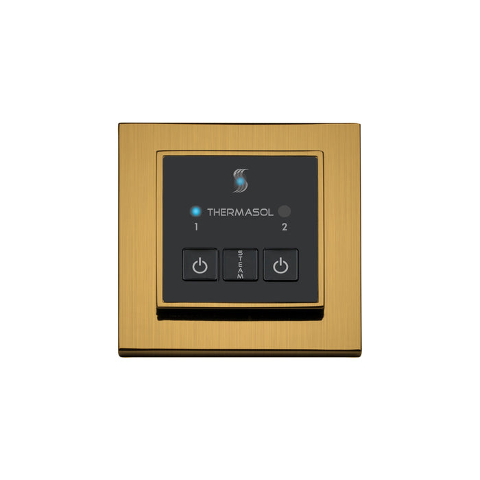 ThermaSol Steam Shower Control Unit - Easy Start Control Square